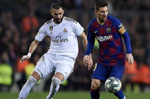 FC Barcelona-Real Madrid oktobro 2020